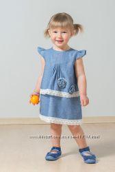 Платье с кружевом Модный карапуз