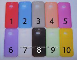 Чехол HTC One 2 M8 УЛЬТРАТОНКИЙ 10 цветов