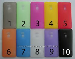 Чехол HTC One Max T6 УЛЬТРАТОНКИЙ 10 цветов