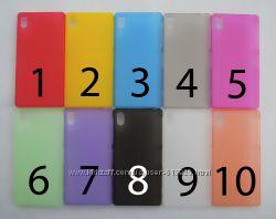 Чехол Sony Xperia Z2 УЛЬТРАТОНКИЙ 10 цветов