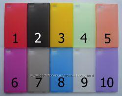 Чехол Xiaomi M3 Mi3 УЛЬТРАТОНКИЙ 10 цветов