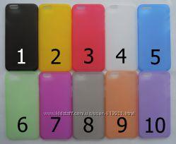 Чехол iPhone 6 4, 7 дюйма УЛЬТРАТОНКИЙ 10 цветов