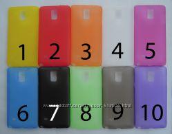 Чехол Samsung Galaxy Note 4 N910 N910H N910F N910C УЛЬТРАТОНКИЙ 10 цветов