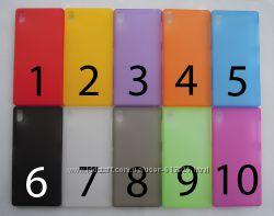 Чехол Sony Xperia Z3 D6603 D6633 D6643 D6653 D6616 D6708 УЛЬТРАТОНКИЙ 10 цв