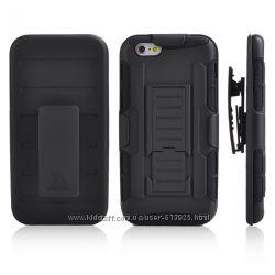 Чехол Apple iPhone 6 4, 7 дюйма бронированный противоударный. Тройная защит