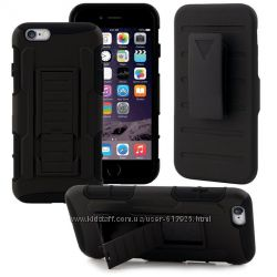 Чехол Apple iPhone 6 5, 5 бронированны противоударный ТРОЙНАЯ ЗАЩИТА