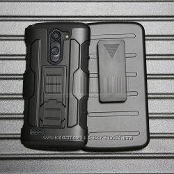 Чехол LG L Bello L80 D331 D335 D337 бронированный противоударный 3 в 1