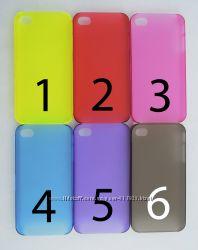 Чехол iPhone 4 4s 6 цветов