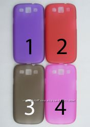 Чехол Samsung Galaxy S3 4 цвета