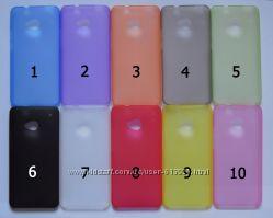Чехол HTC One M7 УЛЬТРАТОНКИЙ 10 цветов