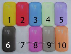 Чехол Samsung Galaxy S3 mini УЛЬТРАТОНКИЙ 10 цветов