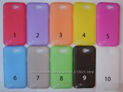 Чехол Samsung Galaxy Note 2 УЛЬТРАТОНКИЙ 10 цветов