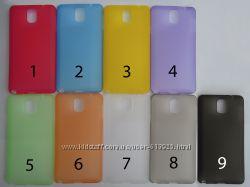 Чехол Samsung Galaxy Note 3 N900 N9000 N9002 N9005 УЛЬТРАТОНКИЙ 9 цветов