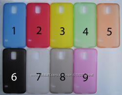 Чехол Samsung Galaxy S5 УЛЬТРАТОНКИЙ 9 цветов