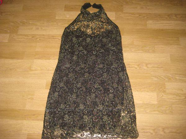 Эффектное коктейльное платье