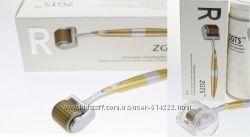 ZGTS мезороллер с позолоченными иглами из титанового сплава