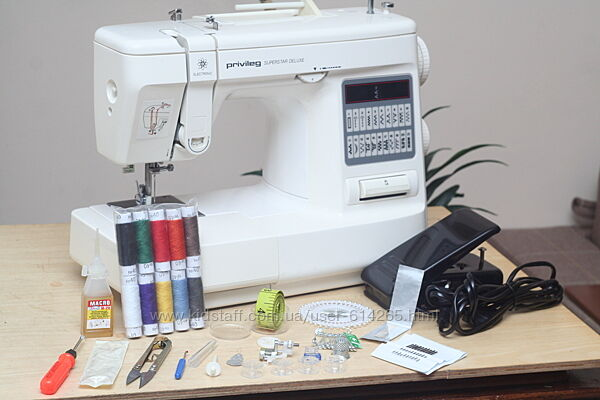 Швейная машина Privileg Superstar Deluxe M2021E Германия - Гарантия