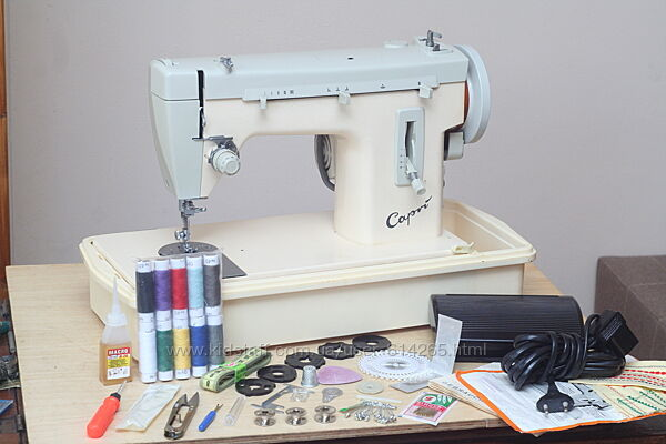 Швейная машина Singer Capri 168 Германия кожа - Гарантия 6 мес