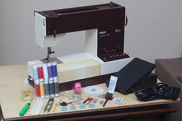 Швейная машина Pfaff Tipmatic 1013 Германия 1985 г. - Гарантия 6 мес
