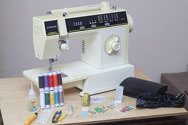 Швейная машина Singer 6215c Samba 6 бразилия - гарантия 6 мес