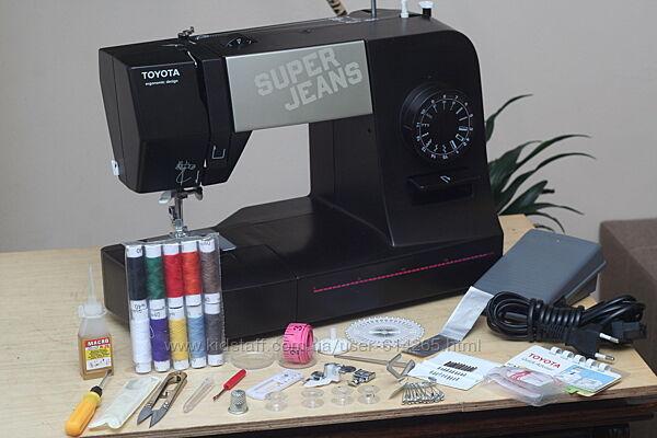 Швейная машина Toyota Super Jeans 15 - Гарантия 6 мес