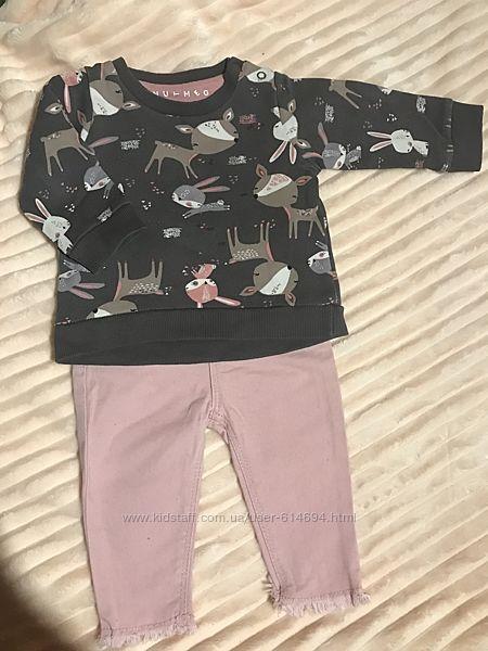 Красивый комплект свитерок и джинсы