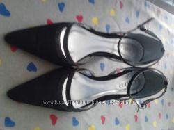 Туфли атласные