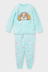 Пижама для девочки европейского бренда C&A 2-10 лет
