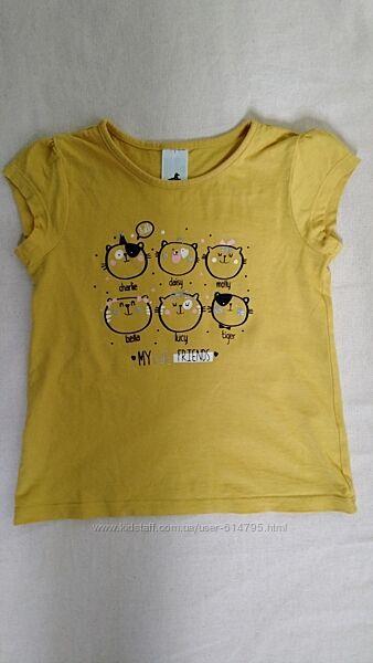 Футболка на девочку европейского бренда C&A