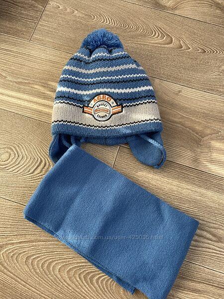 Продам шапку  шарфик