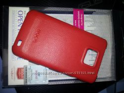 кожаный чехол-накладка для Samsung galaxy s2