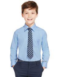 Рубашка школьная для мальчиков новая фирмы Marks&Spenser.  Рост 164