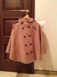 Пальто-пончо бежевого цвета размер L новое Германия