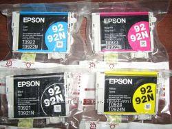 Картриджи TO921-924 для принтеров Epson