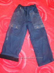 Теплі непродувні штани для хлопчика 4-6 років