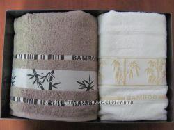 Бамбуковые полотенца в наборе