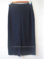 Трикотажная юбка, длинная теплая юбка