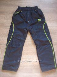 Теплые штаны на синтепоне