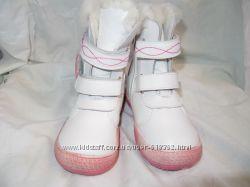 зимние ботиночки из натуральной кожи на натуральном меху