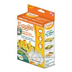 Eggies, форма для варки яиц без скорлупы