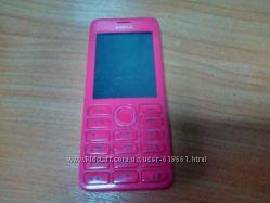 Мобильный телефон Nokia Asha 206 розовый на 2 SIM-карты
