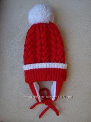 Красивая и теплая зимняя шапка. Ручная работа.