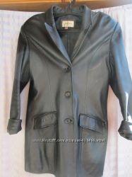 Куртка-пиджак кожа. ПОГ 50. Длина 78 см.