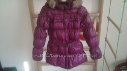 Куртка-пуховик зима CHICCO р128 на 7-8лет отличное состояние
