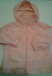 Куртка ветровка chicco р92см на 2года в отличном состоянии