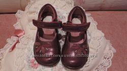 Туфли кожаные  р. 23, 5