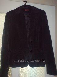 Деловой вельветовый пиджак