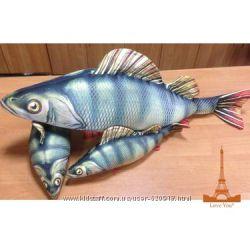 Антистрессовые подушки рыбы на подарок