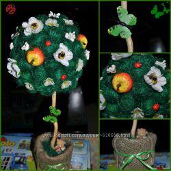 Топиарий, цветочное дерево