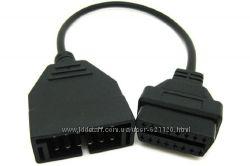 Переходник с OBD-II 16-pin на OBD-I GM-12-pin